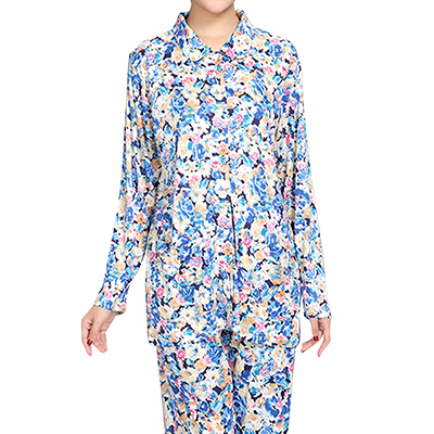 HANAMOLI シルク襟付きパジャマ