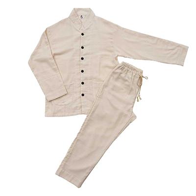 和晒ドビー織パジャマ(男女兼用)