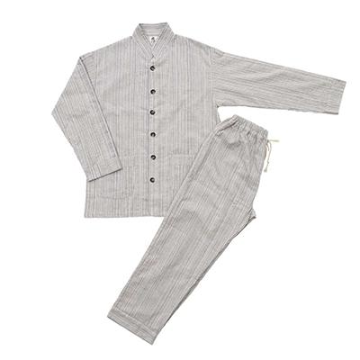 和晒いろは織パジャマ(男女兼用)